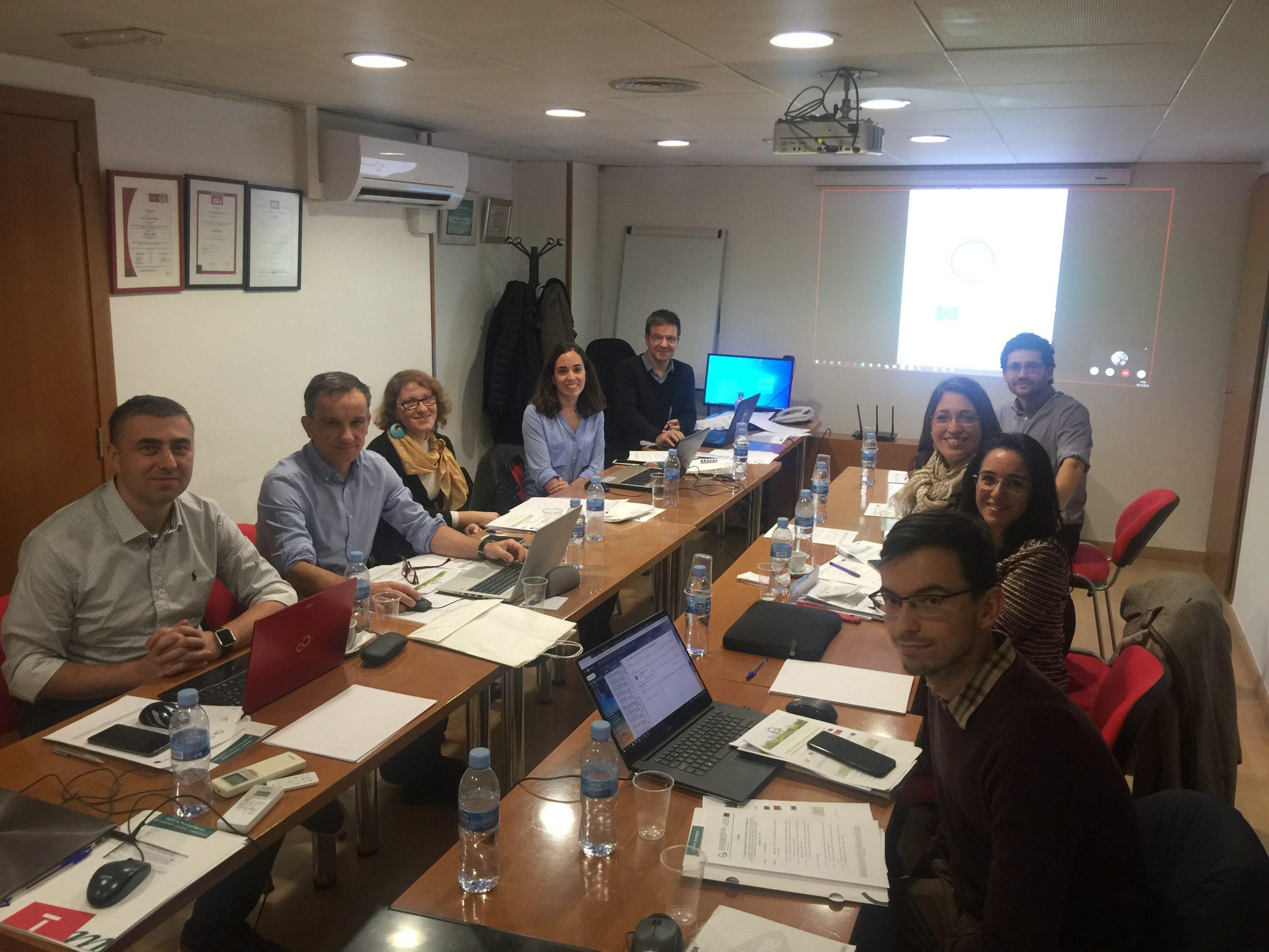 Primera reunión internacional del proyecto CircularBIM en Alicante